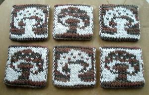 Tanja39's mushroom coasters