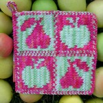 Apples & Pears Pot Holder