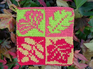Fall Leaves Pot Holder