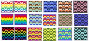 rainbow color options