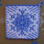 Snowflake Pot Holder - Free Pattern