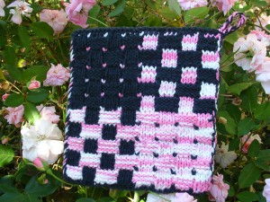 Gingham Weave Pot Holder - Side 2